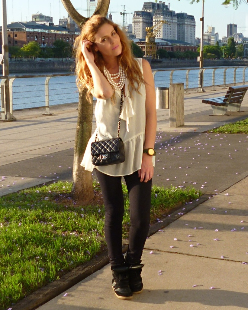 Habitually Chic Beautiful In Buenos Aires: Buenos Aires (look #1)